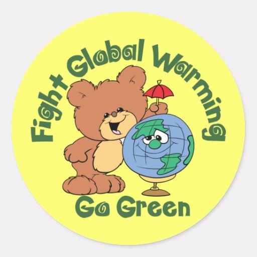 Fight Global Warming Sticker
