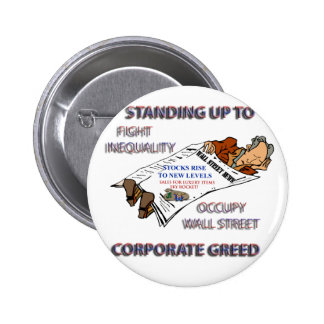 FIGHT INEQUALITY IN AMERICA PRODUCTS 6 CM ROUND BADGE