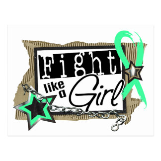 Fight Like A Girl Celiac Disease 24 8 Post Card