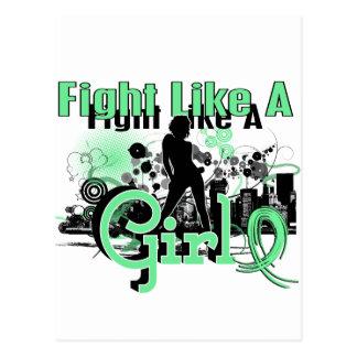 Fight Like A Girl Celiac Disease 30 8 Post Cards