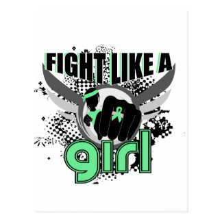 Fight Like A Girl Celiac Disease 33 8 Postcard