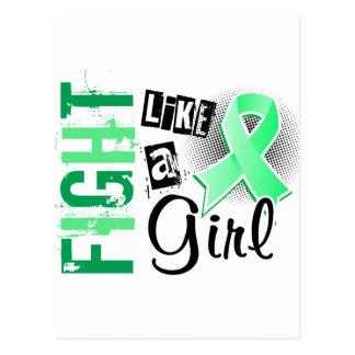 Fight Like A Girl Celiac Disease 36 8 Post Card
