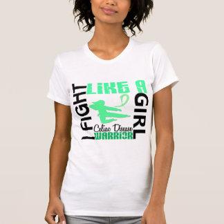 Fight Like A Girl Celiac Disease 3 2 T-shirts