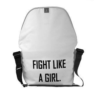 Fight Like A Girl Commuter Bag