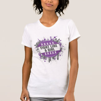 Fight Like a Girl Cool Button - Lupus Tees