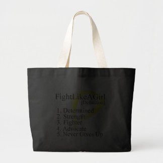 Fight Like a Girl Definition - Sarcoma Tote Bags