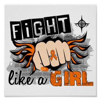 Fight Like A Girl Multiple Sclerosis 27 8 Posters