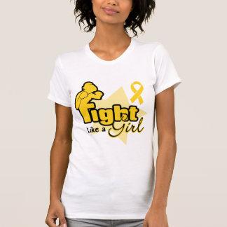 Fight Like a Girl - Neuroblastoma Tee Shirt