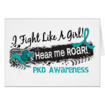 Fight Like A Girl PKD 19.1 Greeting Cards