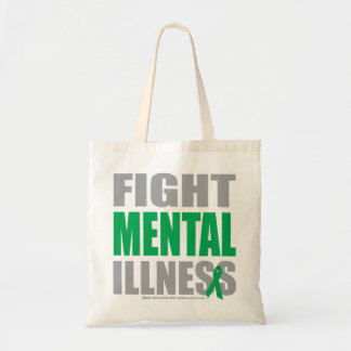 Fight Mental Illness Tote Bag