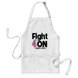 Fight On Against Breast Cancer Standard Apron