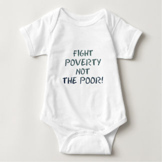 FIGHT POVERTY BABY BODYSUIT