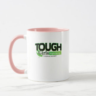 Fight Strong Lymphoma Awareness Support Gift Mug