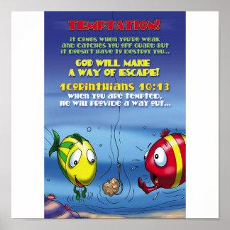 Fight Temptation Poster