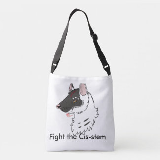 Fight the Cistem Crossbody Bag