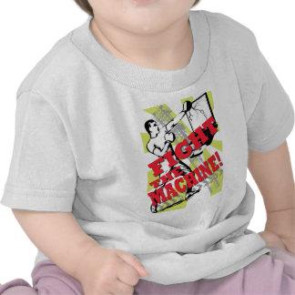 Fight the machine t-shirts