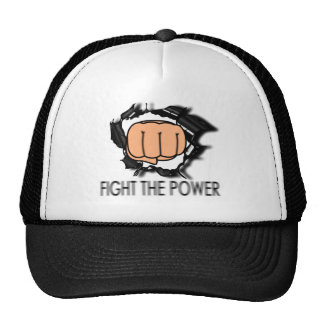 Fight the power! cap