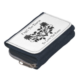 Fight Thorns For Roses Wallet