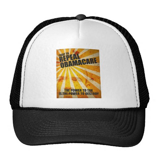 Fight To Repeal Obamacare Mesh Hats