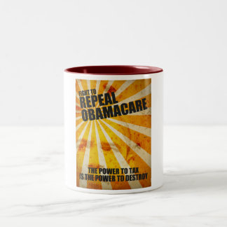 Fight To Repeal Obamacare Mug