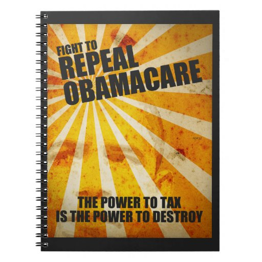 Fight To Repeal Obamacare Notebooks