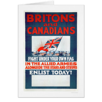 Fight Under Your Own Flag (US02106) Greeting Card