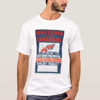 Fight Under Your Own Flag (US02106) T-Shirt