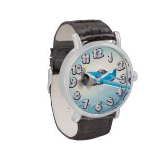 Fighter Aircraft Wristwatch