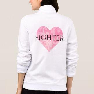 Fighter Fleece Zip Jacket w Heart rv