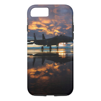 Fighter Jet Airplane at Sunset Military Gifts iPhone 8/7 Case