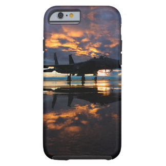 Fighter Jet Airplane at Sunset Military Gifts Tough iPhone 6 Case