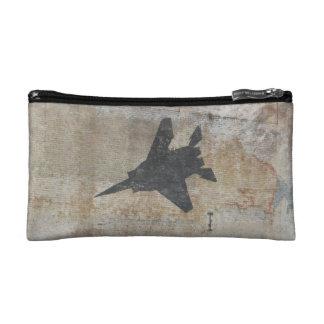 Fighter Jet small bag Makeup Bags