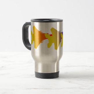 Fighter Jets Squadron Travel Mug