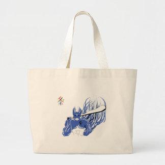 fighter large tote bag