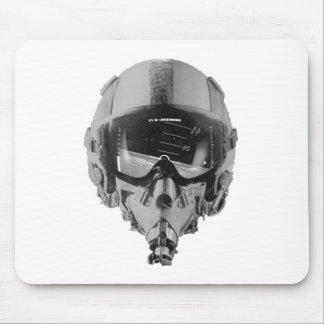 Fighter Pilot Helmet and Altimeter Mouse Pad