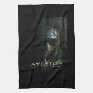 Fighter Pilot Hud Helmet Kitchen Towel