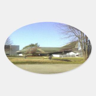 Fighter plane (F4-Phantom) Sticker