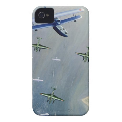 Fighter Planes iPhone4 Case Case-Mate iPhone 4 Cases