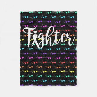 Fighter Tachy Fleece Blanket