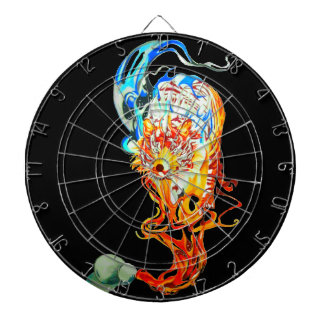 fighter tiger dartboard