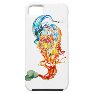 fighter tiger iPhone 5 case