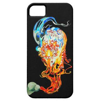 fighter tiger iPhone 5 cases