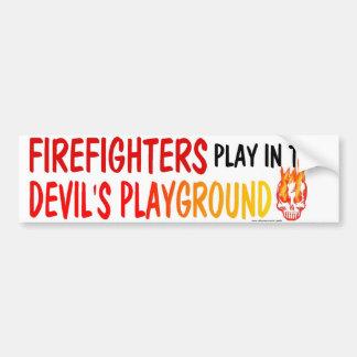 FIGHTERFIGHTER PLAY BUMPER STICKER