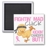 Fightin' Mad Chick Breast Cancer