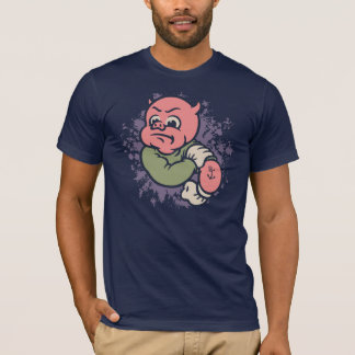 Fightin' Mad Retropig T-Shirt