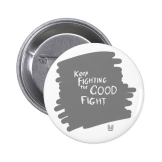 Fighting! 6 Cm Round Badge