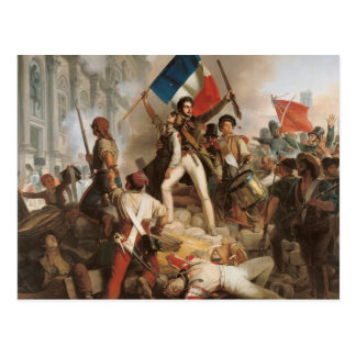 Fighting at the Hotel de Ville Postcard