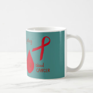 Fighting blood cancer coffee mug