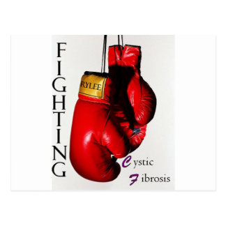 Fighting CF Ry Postcard