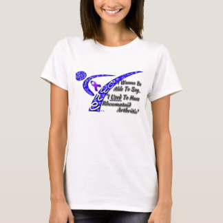 Fighting for a Cure Rheumatoid Arthritis T-Shirt